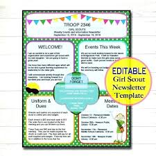 Beautiful Classroom Newsletter Templates That Are Completely