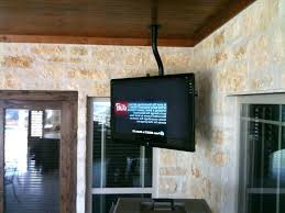 outdoor screen photo 2 of superior hanging a flat from the ceiling top tv covers best