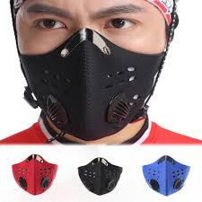 PM2.5 <b>Activated Carbon</b> Anti Dust Motorcycle <b>Bicycle Cycling</b> Face ...