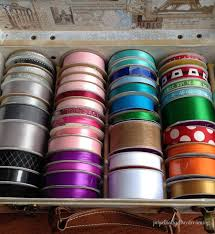 daydreaming storage. Organizing The Ribbon Collection - Perpetually Daydreaming, Craft Organization Daydreaming Storage R