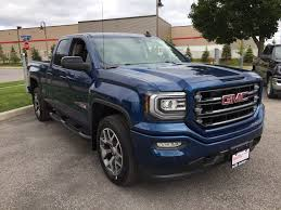 2018 gmc pickup pictures. plain pictures stone blue metallic 2018 gmc sierra 1500 right front corner photo in oshawa  on for gmc pickup pictures