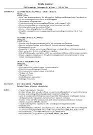 Mesmerizing Optician Assistant Sample Resume For Optometrist