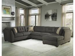 3 piece sectional sofa with chaise. Unique Piece Benchcraft Delta City  Steel3Piece Sectional W Sleeper U0026 Right Chaise  Inside 3 Piece Sofa With