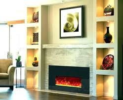modern built in fireplace modern fireplace built ins