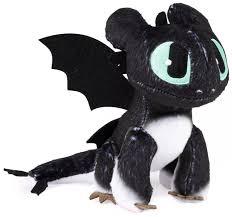 How To Train Your Dragon The Hidden World Nightlight 6 5 Inch Plush Green Eyes