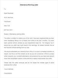 Verbal Warning Letter Template Written Warning Appeal Letter