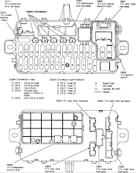 honda civic fuse box 1992 honda wiring diagram instructions