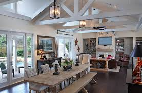 ... Rustic living room with a touch of coastal flavor [Design: RJS Builders]