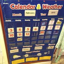 Calendar And Weather Pocket Chart Our Current Preschool Resources Homeschool Its Gravy Baby
