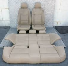 bmw 3 series e90 beige leather interior seats with airbag and door cards for