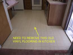 how to remove kitchen ceramic tile and install vinyl flooring