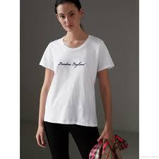 Womens White Designer T Shirt Womens Designer T Shirts New Designer Brand T Shirts Casual Style For Sport Women T Shirt Letter White T Shirt All Shirts Ridiculous T Shirts From