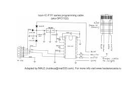 icom sm 8 8 pin diagram