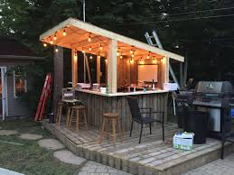 the backyard bar and eatery fresh shed diy tiki bar backyard pool bar built with old