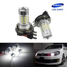 Mk6 Gti Brake Light Bulb Us 14 89 Angrong H15 Led Bulb 30w Samsung Headlight Daytime Running Light For Vw Golf Gti Mk6 Mk7 Caddy Audi Q7 Mercedes Benz Bmw F22 In Signal Lamp