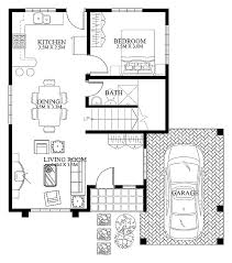 Small Picture bedroom designs small minimalist two bedroom house plans with