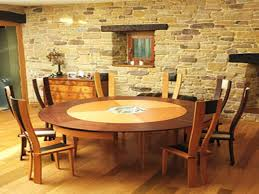square or round expandable dining table round expandable dining table from phillippe braun