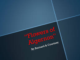 "flowers of algernon"" by bernard courtney charlie s tone charlie  1 ""flowers of algernon"""