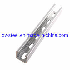 Hot Rolled Prime C Steel C Channel Weight Chart Steel Construction Material Galvanized Z Purlin Z Channel