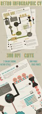 Infographic Resume Template Graphicriver | Resume For Study