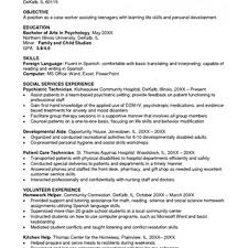 Resume For Forensic Psychologist Sales Psychologist