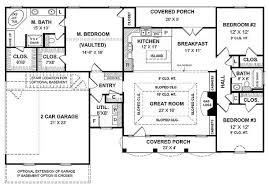 Single Story Open Floor Plans | Open Floor Plans For One Story ...
