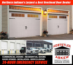 hostetler doorwe ve proudly served the michiana area for over 40 years providing the best options for all residential and commercial overhead door needs