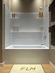 Tub and Shower - One Piece another Diamond option with more shelf space -  nearest distributor