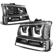All Chevy 95 chevy headlights : DNA Motoring | Rakuten: For 03-06 Chevy Silverado/Classic ...