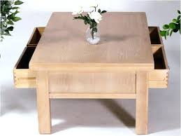 limed oak coffee table awesome with 4 drawers square