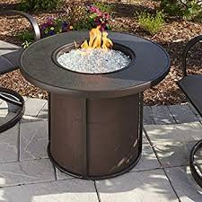 round gas fire pit table. Fire Pit Table Videos Amazon Alfresco Home Bay Ridge 36\u0026quot; Round Gas O