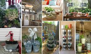 35 amazing ideas to reuse and re purpose galvanized tub buckets dreams in life