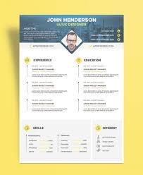 Ux Resume New Free Creative Resume Cv Design Template For Ui Ux Designer 19