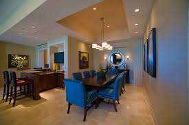 each suite has its own unique touches such as dining tables pool tables