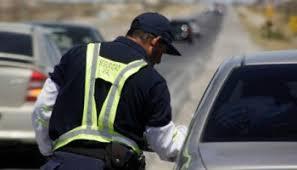 Resultado de imagen para policia de seguridad vial en el bolson