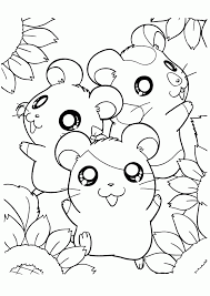 Hamsters Coloring Pages Coloring Home