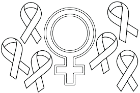 Red Ribbon Color Pages Cancer Ribbon Coloring Page Eunacal Org
