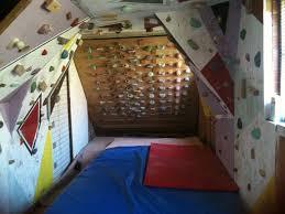 home climbing walls basement