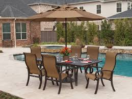 elegant outdoor furniture. furnitureelegant outdoor furniture aluminum sets with round painted table combine light brown fabric elegant