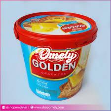 Bánh quy bơ - Phô mai ( xô ) - Indonesia - 100g - Omely - Candy & Snack Shop