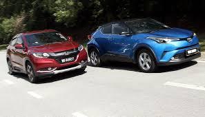 Battle Of The Compact Suvs Honda Hr V Versus Toyota C Hr