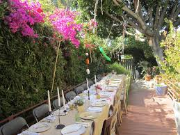 Outdoor Table Decor Diy Outdoor Party Decorations Ideas Best Home Designs