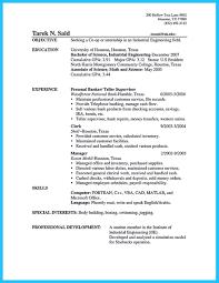 Resume Samples Teller Supervisor Sidemcicek Com Bank Job