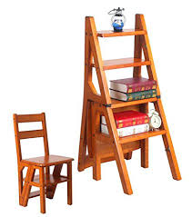 dual use furniture. Dual Use Furniture Chair Ladder Four Step Solid Wood Purpose Desk
