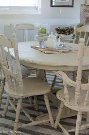 antique white distressed dining table. start at home - annie sloan old orche chalk paint | painting pinterest sloan, and antique white distressed dining table