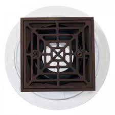 oil rubbed bronze shower drain. Modren Oil Noble PVC Shower Drain With Square Oil Rubbed Bronze Strainer Throughout B