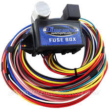 universal fuse block parts accessories universal 12 circuit short wire harness fuse block hot rod gm holden chev ford