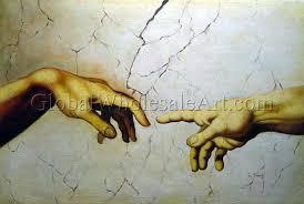 hands of and adam