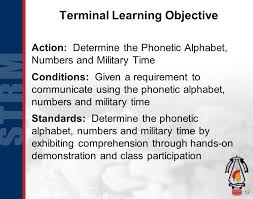 By using ipa you can know exactly how to pronounce a certain word in english. Basic Military Communication Ppt Download