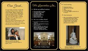 Wedding Planner Brochure Cevi Design